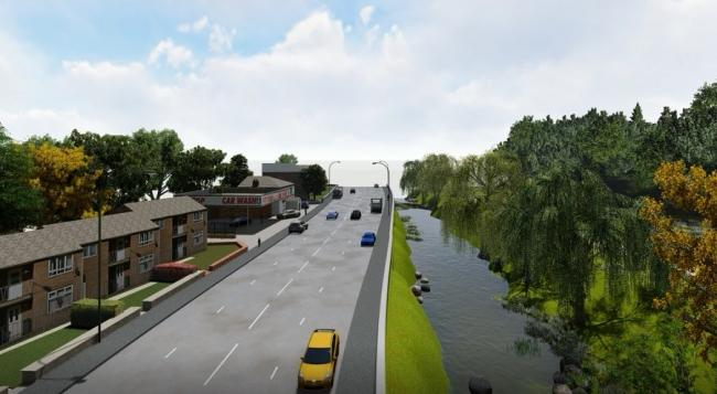 Canal Road picture from T&A